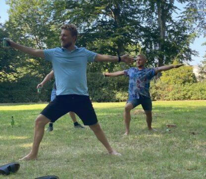Øl-yoga